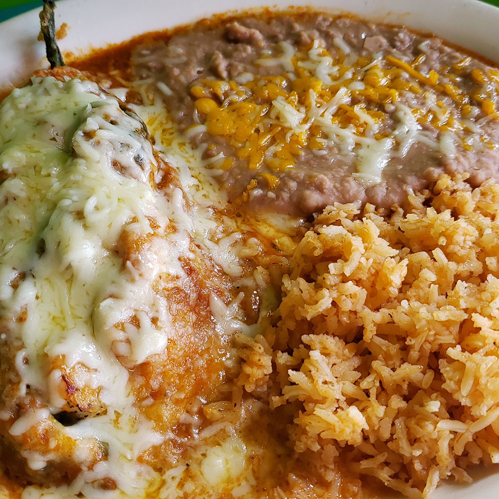 Chile relleno - Mangos Mexican Cafe