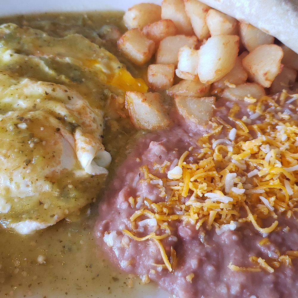 Mangos Mexican Cafe - Huevos Rancheros