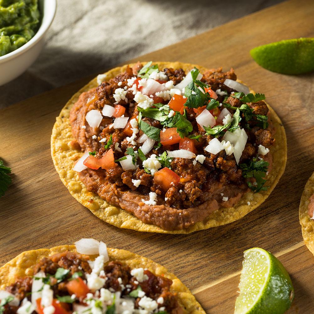 Mangos Mexican Cafe - Tostada voladora
