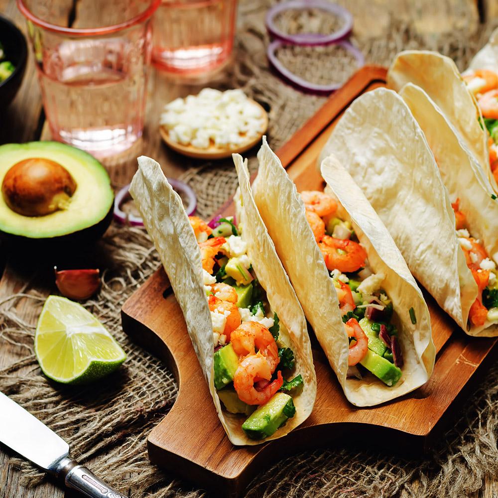 Shrimp Taco - Mangos Mexican Cafe